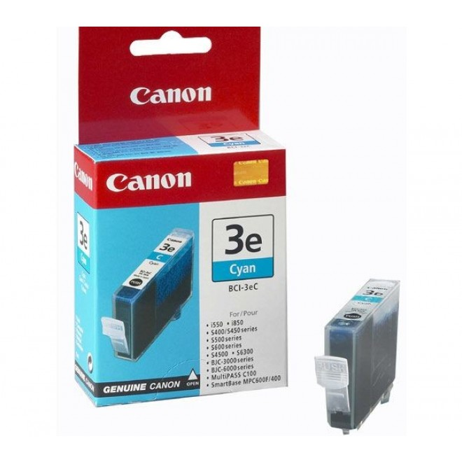 Canon Genuine BCI-3eC Cyan Ink Cartridge for S750/S6300/S600/S530D/S520