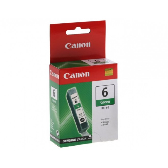 Canon Genuine BCI-6G Green Ink Cartridge for I9950/IP8500