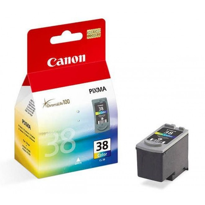 Canon Genuine CL-38 Color Ink Cartridge for MX310/MX300/MP470/MP220/MP210/MP190