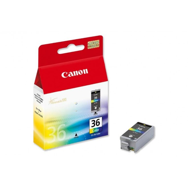 Canon Genuine CLI-36C Colour Ink Cartridge for IP100/IP110/MINI260