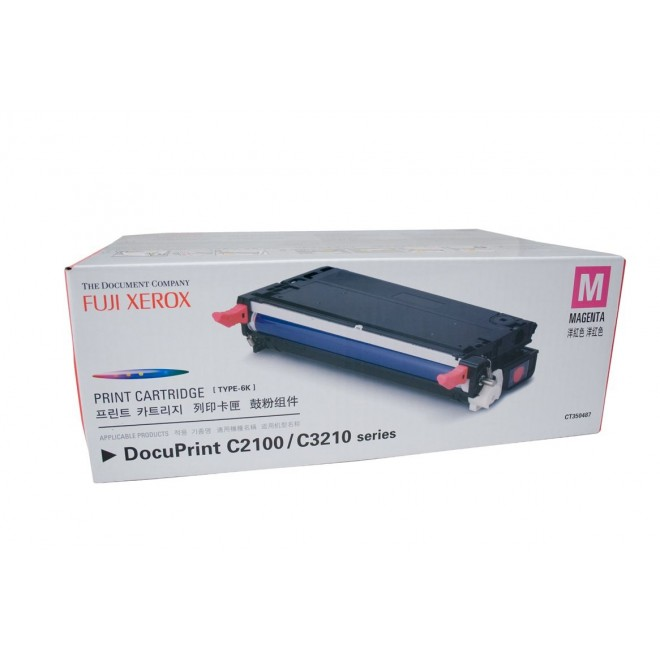 Fuji Xerox Genuine CT350483 Magenta Toner Cartridge for C2100/C3210DX